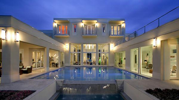 Post modern house interior design