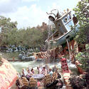 Popeye & Bluto's Bilge-Rat Barges, Islands of Adventure