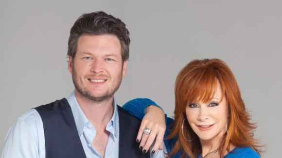 Blake & Reba Team Up For TV