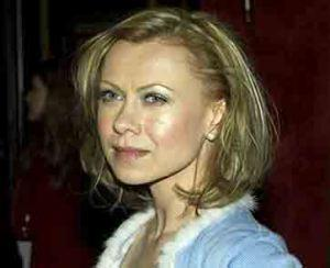 Oksana Baiul attends a film screening.