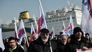 ATHENS — Greece's embattled ruling coalition Wednesday forced striking seamen to return to work and restore suspended ferry services to dozens of Greek islands that have been cut off from the mainland, leading to food and medical shortages.