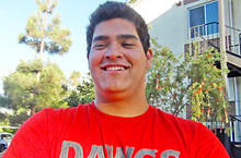 John Lopez is projected as an offensive guard at UCLA.