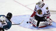 <strong>It would've been easy for Blackhawks coach Joel Quenneville</strong> to yank goalie Corey Crawford shortly after the opening faceoff in San Jose on Tuesday night.