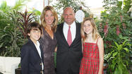 Jack, Laura, John and Jordan Maloney supporting the Junior Diabetes Research Foundation gala.
