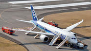 Airline says Boeing 787 grounding will affect 100,000 passengers