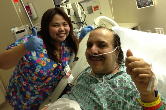 Ron Jeremy in the hospital