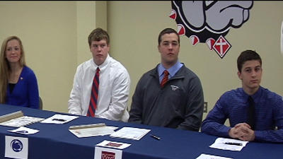 ROUNDUP: Local high school athletes sign on to play in college; Virginia Tech, UVA announce football recruits