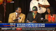VIDEO Ray Lewis III signs with University of Miami
