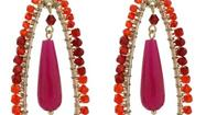 Hockney earrings from Sequin
