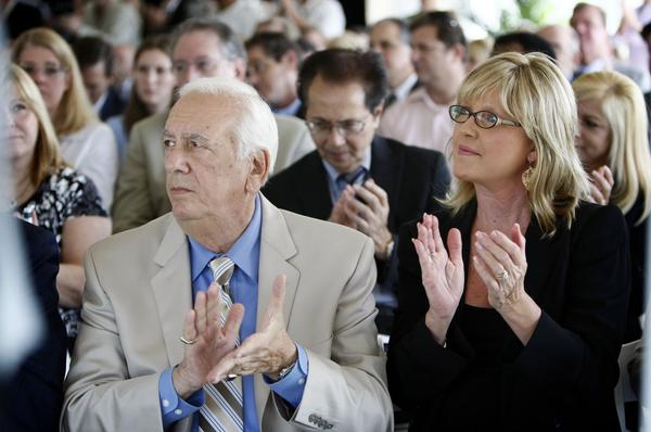 A new rule would force former Palm Beach County commissioners, such as Burt Aaronson and Karen Marcus, to wait two years before serving on a county board or committee.