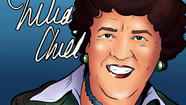 "<a href=""http://www.juliachildfoundation.org/"">Julia Child</a> has truly become one of the immortals of American culture. There's a new comic book out retelling her life story."