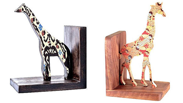 Copycat or coincidence? The Target bookend at left followed the introduction of the Wolfum bookend on the right.