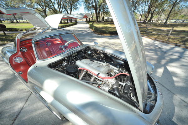 This 1955 Mercedes-Benz 300SL Gullwing has been owned by a single family since new. It's expected to sell for $1 million to $1.25 million.
