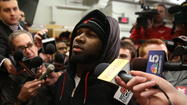 "<strong>Devin Hester said, ""I know some of the plays I should have made in terms of catching the ball. But I just wasn't feeling it. My mind wasn't there the majority of the time."" This is from a guy getting paid close to $2 million dollars a year. After moaning about not being given the opportunity to play wide receiver. It's time to drop this fool who I admit was one of the greatest return men of all time. He has not had a return for a TD in two years. He was never a receiver, never a corner. He was a return man, end of story. How many games has he cost us because his head wasn't in it? How long must we deal with this unprofessional attitude?</strong> -- Steven Sivak, Grand Junction, Mich."