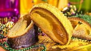 King cake rules over New Orleans in the weeks before Mardi Gras, a beloved, edible symbol of the anything-goes vibe of Carnival in the Crescent City.