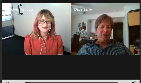 Dave Barry chats with the Los Angeles Times' Carolyn Kellogg.