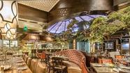 "Mizner Park's forest-fantasy Italian restaurant and movie-theater combo offers $5 artisanal cocktails in the bar and lounge area during happy hour. Mixologist Adam Seger got his liquor-industry wings learning wines in California and working Chicago's cocktail scene. At Tanzy, his drinks are mixed with herbs grown in the restaurant's garden. Happy-hour spirit choices include Finlandia, Bacardi, Bombay, El Jimador and Johnnie Walker. House wines go for $5, as well, and drafts of Sam Adams, Miller Light and Peroni cost $4. Here, ""bar food"" means Brussels sprouts and pan-seared calamari, and the dishes cost $8 instead of $10 and $13."