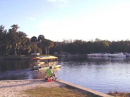 Florida Getaways of the Day - <b>DeLand:</b> Take a ferry to an unspoiled island park