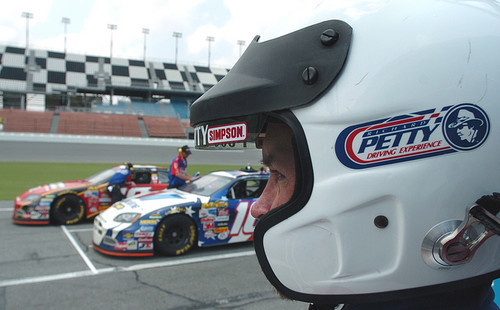 Florida Getaways of the Day - <b>Daytona Beach:</b> Road rush at Petty Driving Experience