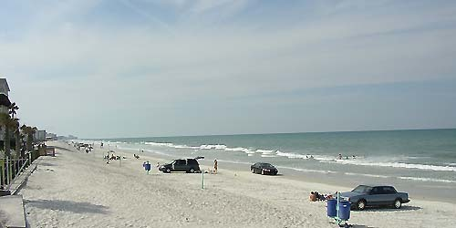 Florida Getaways of the Day - <b>New Smyrna Beach:</b> Driving on the