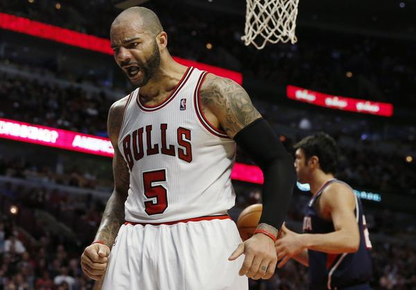 Even without Derrick Rose, the Bulls are one of the top teams in the Eastern Conference, thanks in part to Carlos Boozer.