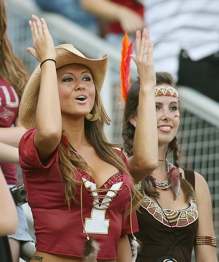 Photos: Florida State football fans and cheerleaders - FSU vs. Charleston Southern