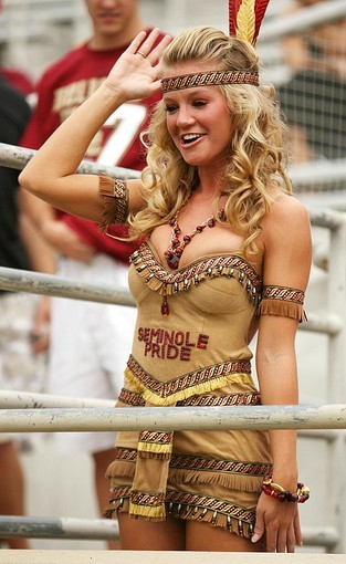 Photos: Florida State football fans and cheerleaders - FSU vs. Samford