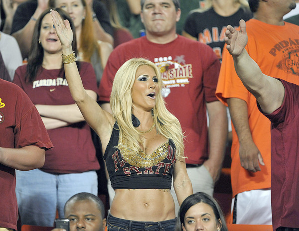 Photos: Florida State football fans and cheerleaders - FSU fans
