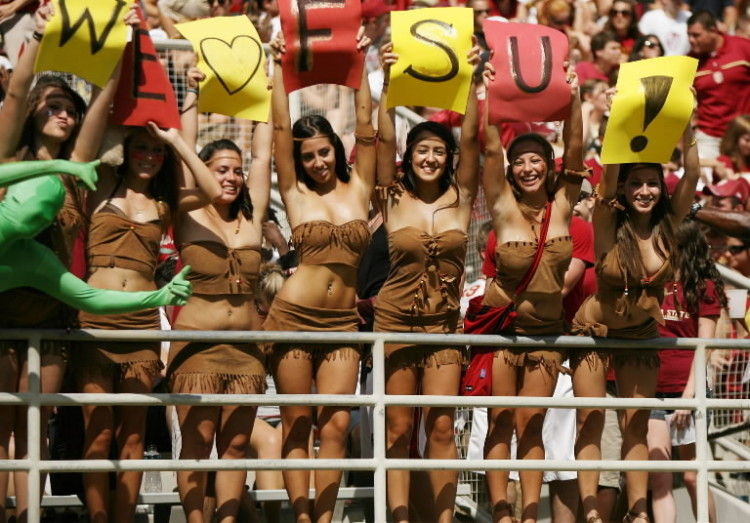 Photos: Florida State football fans and cheerleaders - FSU vs. Wake Forest