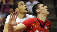 The college basketball season comes with all sorts of tests. For Maryland center Alex Len, one came in last Saturday's game against Wake Forest in the form of a forearm to his chest.