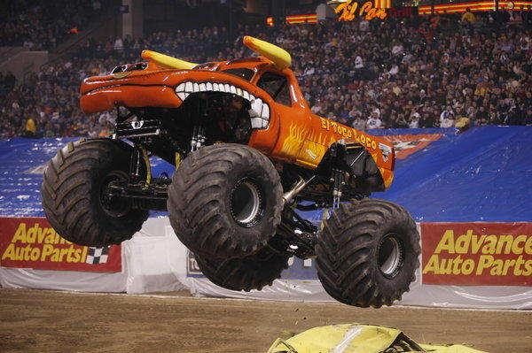 El Toro Loco, Grinder and Firestorm are some of the monster trucks (weighing in at a minimum 5 tons) joining legendary monster Grave Digger at the Advance Auto Parts Monster Jam. Crashing cars, jumping over buses and weaving around airplanes can be part of the action in side-by-side races and freestyle routines. <br><br><b> Why go: </b>It's sort of like professional bull riding: It sounds exciting on paper, but when you see it in person, oh yeah! <br><br><b> Reconsider:</b> Advance Auto Parts Monster Jam, Lucas Oil Monster Truck Nationals, Lady Gaga; so many monsters, not enough time. <br><br><b> Friday through Sunday at Allstate Arena, 6920 N. Mannheim Road, Rosemont; $20-$59.50; 800-745-3000, ticketmaster.com</b>
