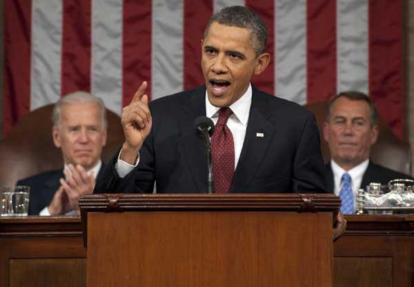 President Barack Obama will deliver the State of the Union Address