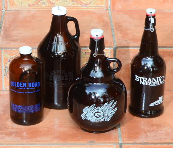 Growlers from Southland breweries