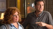 "Debilitatingly witless, ""Identity Thief"" strands Melissa McCarthy and Jason Bateman on the shoulder of its own road-trip premise, an artificial construct reminiscent of ""Due Date."" Remember ""Due Date,"" that sour thing with Robert Downey Jr. and Zach Galifianakis? Neither do Downey and Galifianakis."