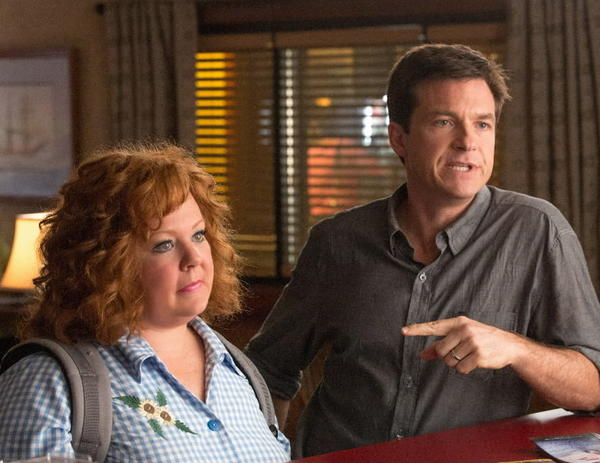 "Melissa McCarthy and Jason Bateman star in ""Identity Thief."""