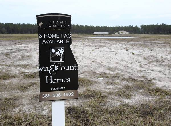 Grand Landings is an almost empty development in Palm Coast in Flagler County.