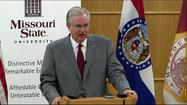 SPRINGFIELD, Mo. -- It's a drop in the bucket, but educators say they would take it.  Gov. Jay Nixon unveiled his plan to fund higher education at a news conference at Missouri State University on Wednesday morning.