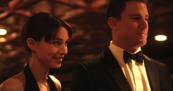"Rooney Mara and Channing Tatum star in ""Side Effects."""