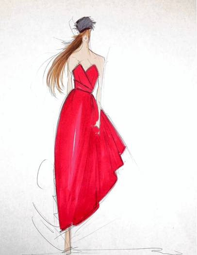 Christian Siriano fall 2013 inspiration image