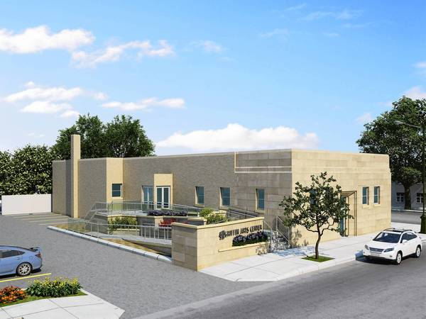 Illustration of the proposed Griffin Arts Center.