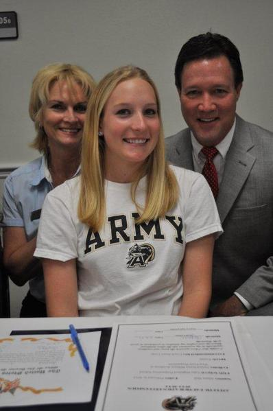 Lake Highland Prep athlete Alyssa Hall will play Girls Tennis at West Point Preparatory.