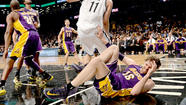 Lakers forward Pau Gasol will be sidelined for an indefinite period after sustaining a tear of the  plantar fascia in his right foot.