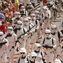 Star Wars Weekends: Stormtrooper parade