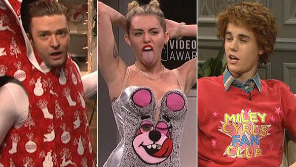 'Saturday Night Live' double duty: Justin Bieber to the Rolling Stones: Saturday Night Live has had a lot of hosts and musical guests in its 38-season history. But only a handful of celebs have acted as host and performed as musical guest in the same night.