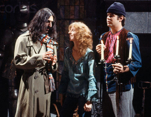'Saturday Night Live' double duty: Justin Bieber to the Rolling Stones: October 21, 1978  Pictured here with Laraine Newman and Dan Aykroyd.