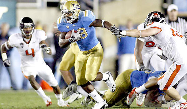 Running back Malcolm Jones, who left UCLA last fall, will return to the Bruins football program as a walk-on, according to Coach Jim Mora.