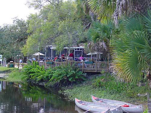 Florida Getaways of the Day - <b>Venice: </b> Riverside dining at Snook Haven