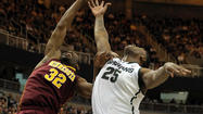 EAST LANSING, MICH. -- For all the pain that Michigan State freshman Gary Harris seemed to be in throughout Wednesday's game, it had nothing on the anguish he inflicted on Minnesota.