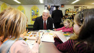 Gov. Tom Corbett's proposed budget includes a pension reform measure for state employees.