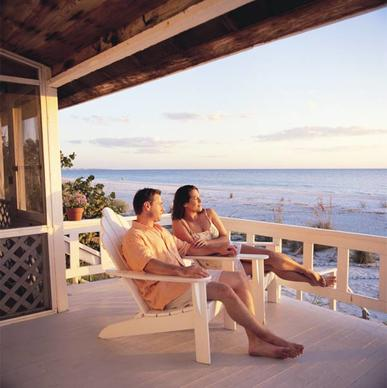 Views of the sunset are a must for couples visiting Anna Maria Island.
